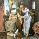 Sleeping Beauty by Alexander Zick 1845-1907