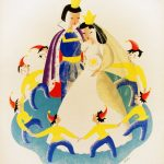 Snow White and the seven dwarfs WPA poster ca.1939